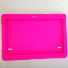 Funda de silicona para Tab 10.1 pulgadas MTK6592 MTK8752 K107 S107 Cubierta de La tableta de 10.1 pulgadas 3G 4G de la Tableta
