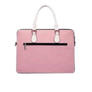 Image 2 - กระเป๋าแล็ปท็อปสไตล์สำหรับสตรี 15.6 15 14 13.3 13 นิ้วPUหนังคุณภาพสูงกระเป๋าคอมพิวเตอร์ 2019