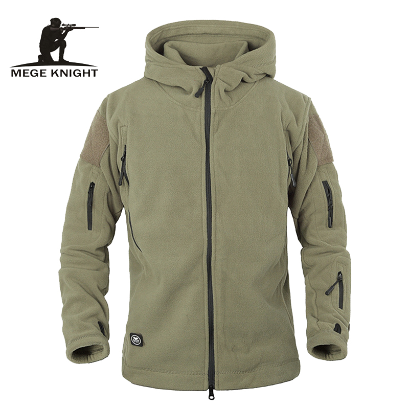 Winter Tactical Jacket Military Uniform Soft Shell Fleece Hoody Jacket Men Thermal Clothing Casual Hoodies