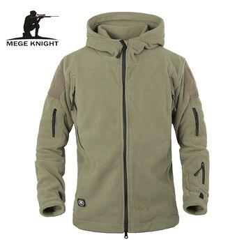 Winter Tactical Jacket Military Uniform Soft Shell Fleece Hoody Jacket Men Thermal Clothing Casual Hoodies Jackets