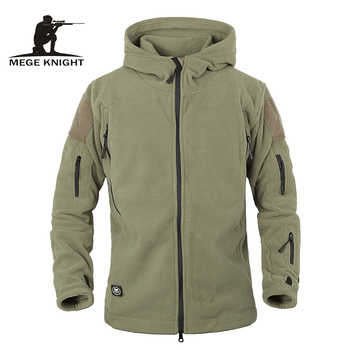 Winter Tactical Jacket Military Uniform Soft Shell Fleece Hoody Jacket Men Thermal Clothing Casual Hoodies - DISCOUNT ITEM  30% OFF All Category
