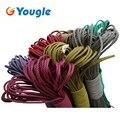 Паракорд YOUGLE 550, Паракорд, парашютный шнур, веревка, веревка, палатка, стандартный Mil-Spec Тип III, 7-жильный сердечник, 50-100 футов, 215 цветов