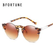 BFORTUNE Vintage Sunglasses Mujeres Hombres Diseñador de la Marca de Espejo Redondo Colorido Gafas de Sol Oculos Feminino Lentes De Sol Gafas de Mujer