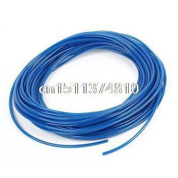 50 Meter 164Ft 4mm x 2.5mm Pneumatic Air PU Hose Pipe Tube Blue