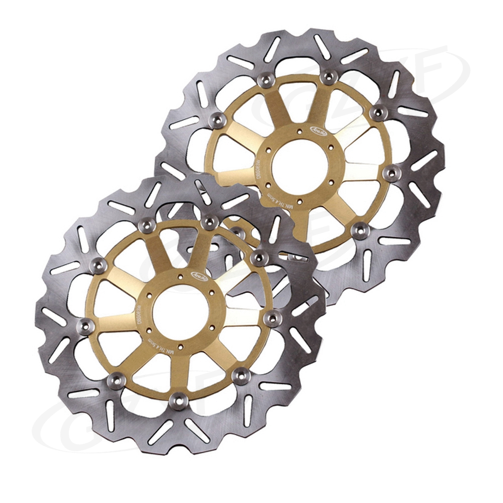 Front Brake Disc Rotors for Honda CBR900RR 1998-1999 Motorcycle Parts Left + Right