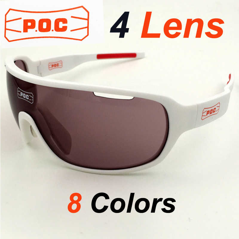 3336b9c714 NEW 2018 New 4 Lens Polarized Cycling Eyewear Men Women Sports Sunglasses  Bike Bicycle Glasses Outdoor