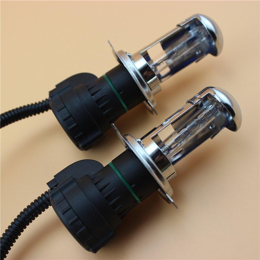 H4 HI/LOW 12V 35W Xenon HID Replacement Car Headlight Lights Lighting source Conversion Kit Lamp Bulb 4300K 8000K 6000K