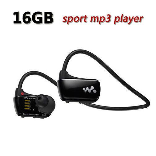 Envío Libre Se Divierte al jugador mp3 Walkman NWZ-W273 16 GB W273 auricular Correr mp3 reproductor de música del auricular del auricular