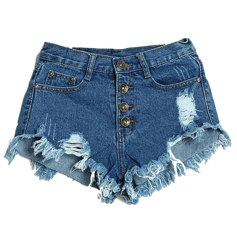 Delicate Hot! short feminino Summer Sexy Women Fashion Slim Fit Bore Hol Denim Shorts pantalones cortos mujer al21 wholesale