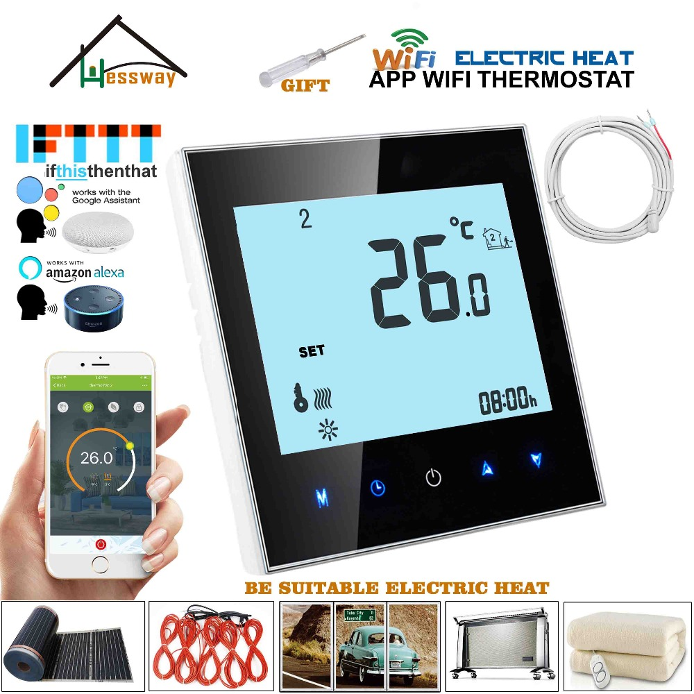 WiFi Thermostat Temperature Controller for Water/Electric