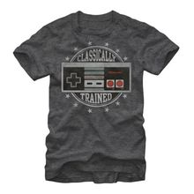 Classically Trained T shirt men Nintendo Classically Trained NES Video Game Controlle Casual tee USA size S-3XL
