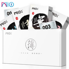 MIO Condom 12Pcs/Pack 4 Types Slim Ultra Thin Lubricating Condoms Sexy Latex Adult Intimate Penis Sleeve Sex Toys for Men