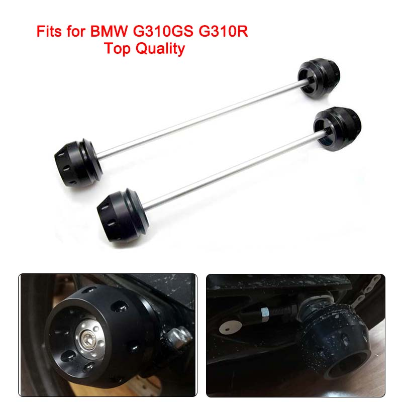 G310GS Full Set of Front Rear Axle Fork Slider Wheel Drop Falling Protection Anti drop Ball