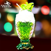 210ml Creative Mermaid Cocktail Mixing Glass Bar Beer Cup