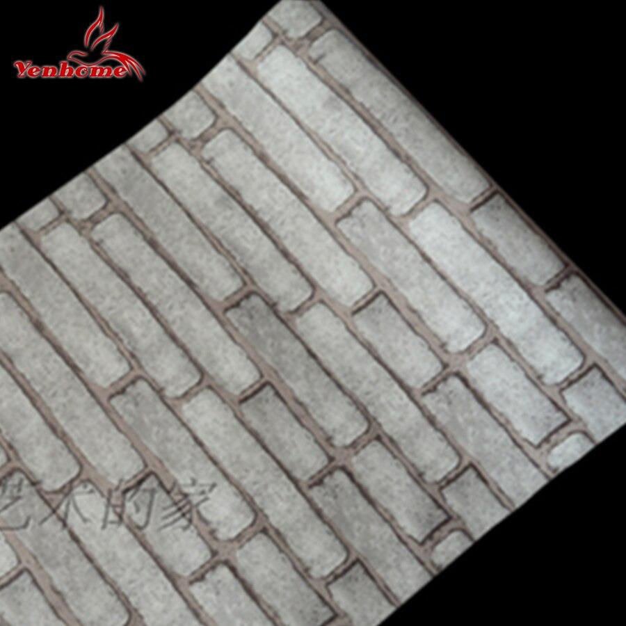 Online get cheap brick wall house for Cheap brick wallpaper