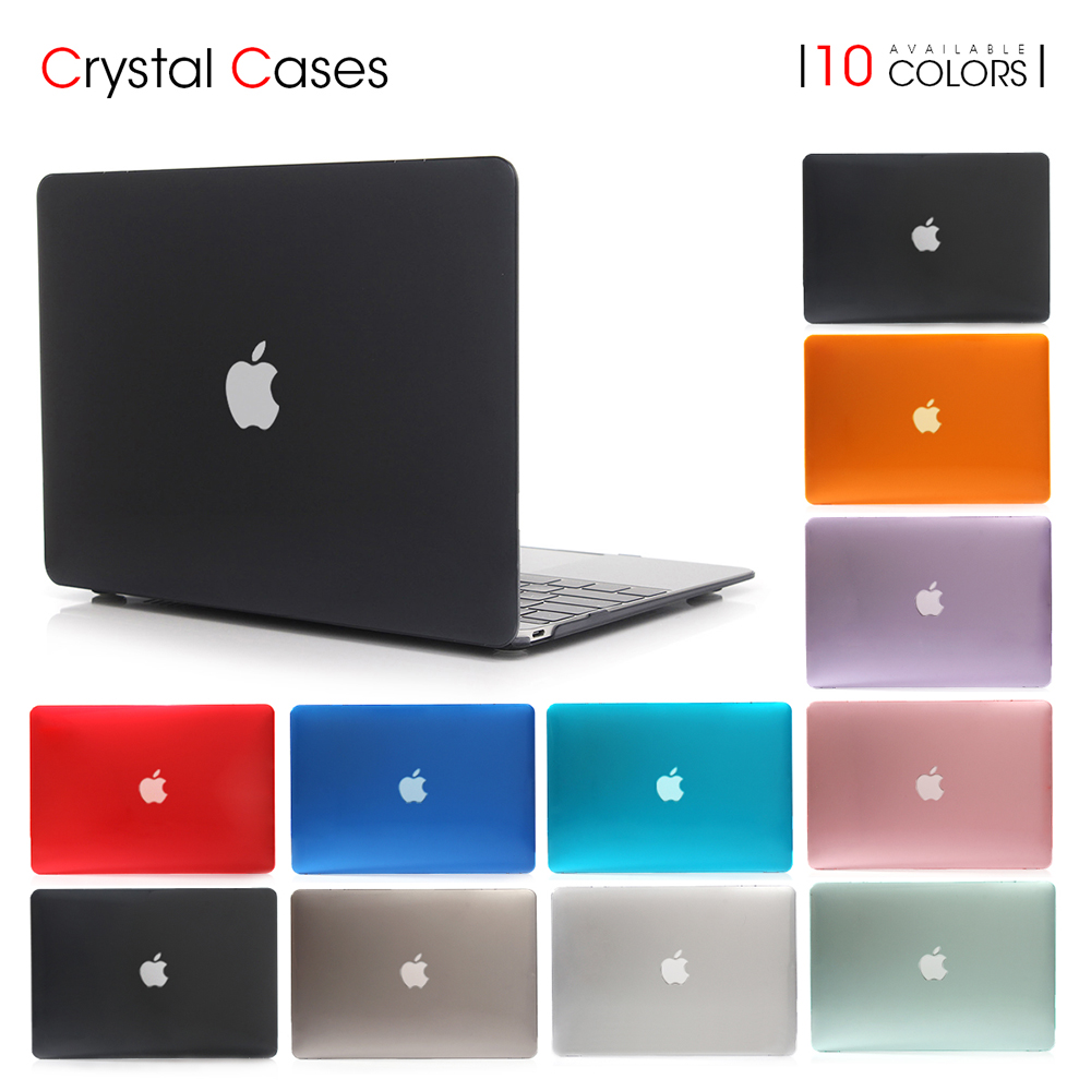 цена на VOGROUND NEW Transparent Touch Bar Crystal Case For Apple Macbook Air Pro Retina 11 12 13 15 Laptop Cover Bag For Mac 13.3 inch