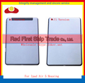 Для iPad Air iPad 5 Wi-Fi или 3 Г Версия Назад Задняя корпус Задняя Крышка Задняя крышка Батарейного Отсека С Логотипом Серебристо-Серый + Отслеживая код