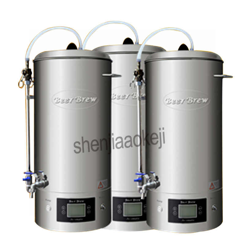 30L Commercial Beer Mash kitchen equipment Homebrew beer device Household brewing machine 220v 2500w 1pc