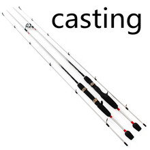 1.8m 2 Segments spinning/casting lure wt.1/64-1/8 Fishing rods  99% Carbon Spinning Casting Lure Fishing Rod