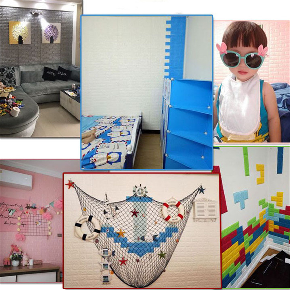 Kids Rooms Decorating Ideas Red Brick Wallpaper: 1PcsBedroom Decor Foam Brick Room Decor Wallpaper Wall