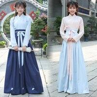 2018 winter hanfu national costume ancient chinese cosplay chinese hanfu women chinese folk dance clothes lady stage dress hanfu