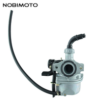 Motorcycle Carburetor Keihin PZ19 19mm Cable Choke Carburetor kit for Mini ATV Moped Scooter Use HK 143