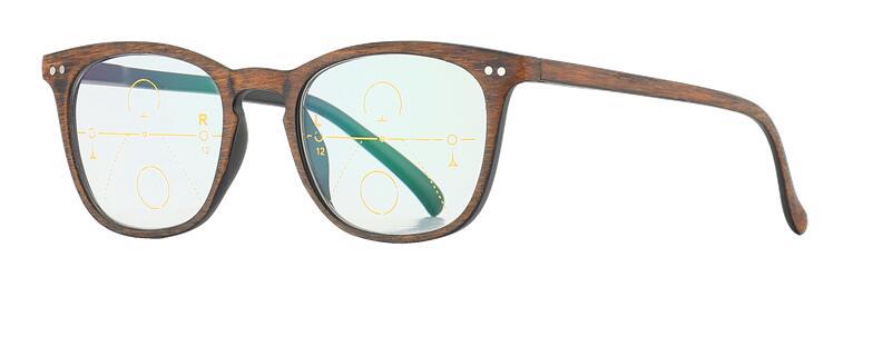 Zoom inteligente de madera Gafas de lectura bifocales progresivas - Accesorios para la ropa - foto 3