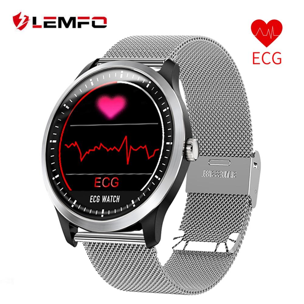 LEMFO N58 ECG PPG Smart watch men women electrocardiograph ecg display holter ecg heart rate monitor