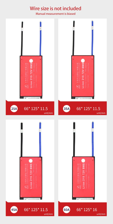 Daly 21 S 25A 35A 45A 60A Lili ion étanche BMS pour batterie au Lithium Rechargeable avec le même Port pour batterie au lithium-in Batterie Accessoires from Electronique    3