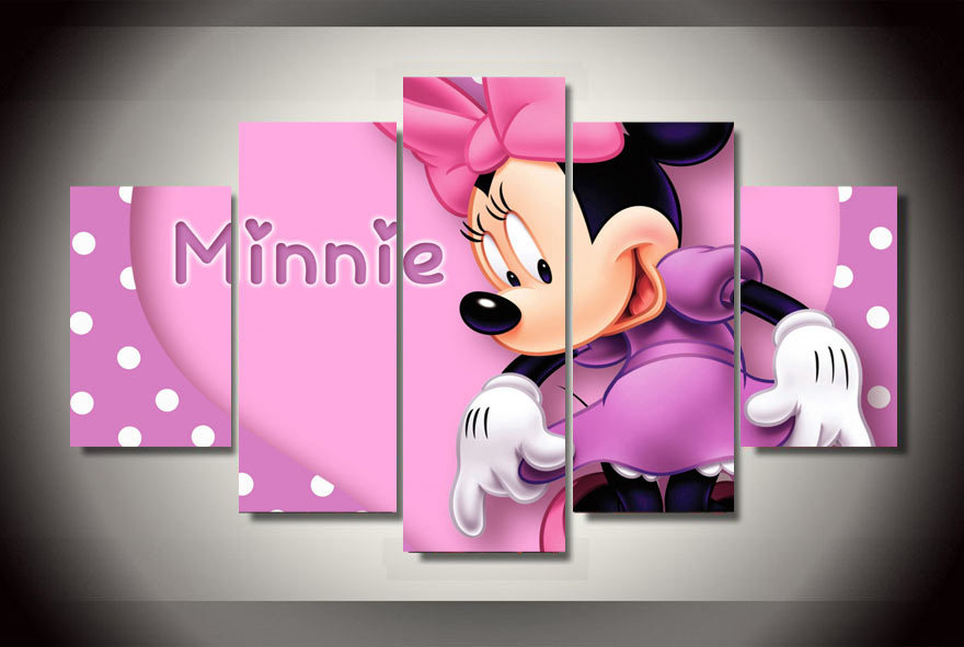 Online get cheap minnie pictures alibaba for Decoration chambre minnie