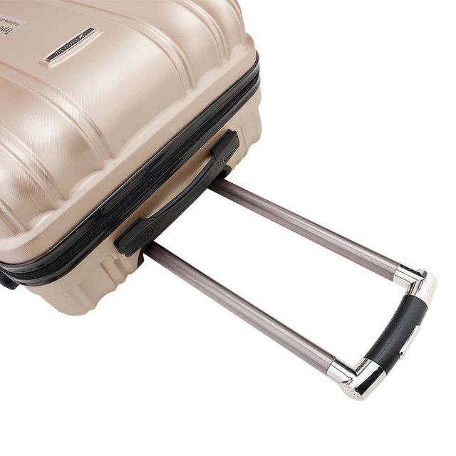 Travel Suitcase in Metal Colors