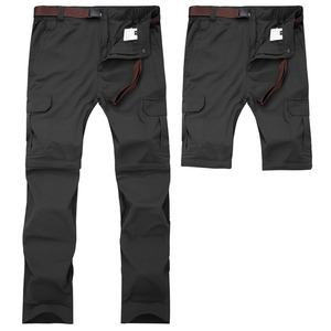 Image 2 - Mountainskin 7XL גברים של קיץ מהיר יבש נשלף מכנסיים לנשימה מכנסיים חיצוני ספורט טיולי טרקים דיג מכנסיים VA110