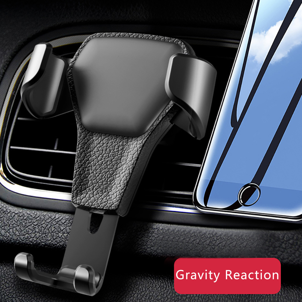 HTB1Twq7aoLrK1Rjy0Fjq6zYXFXa0 Gravity Reaction Car Phone Holder Automobiles Air Vent Mount Stand Clip Grip In Car Smartphone Support Bracket Accessories Gifts