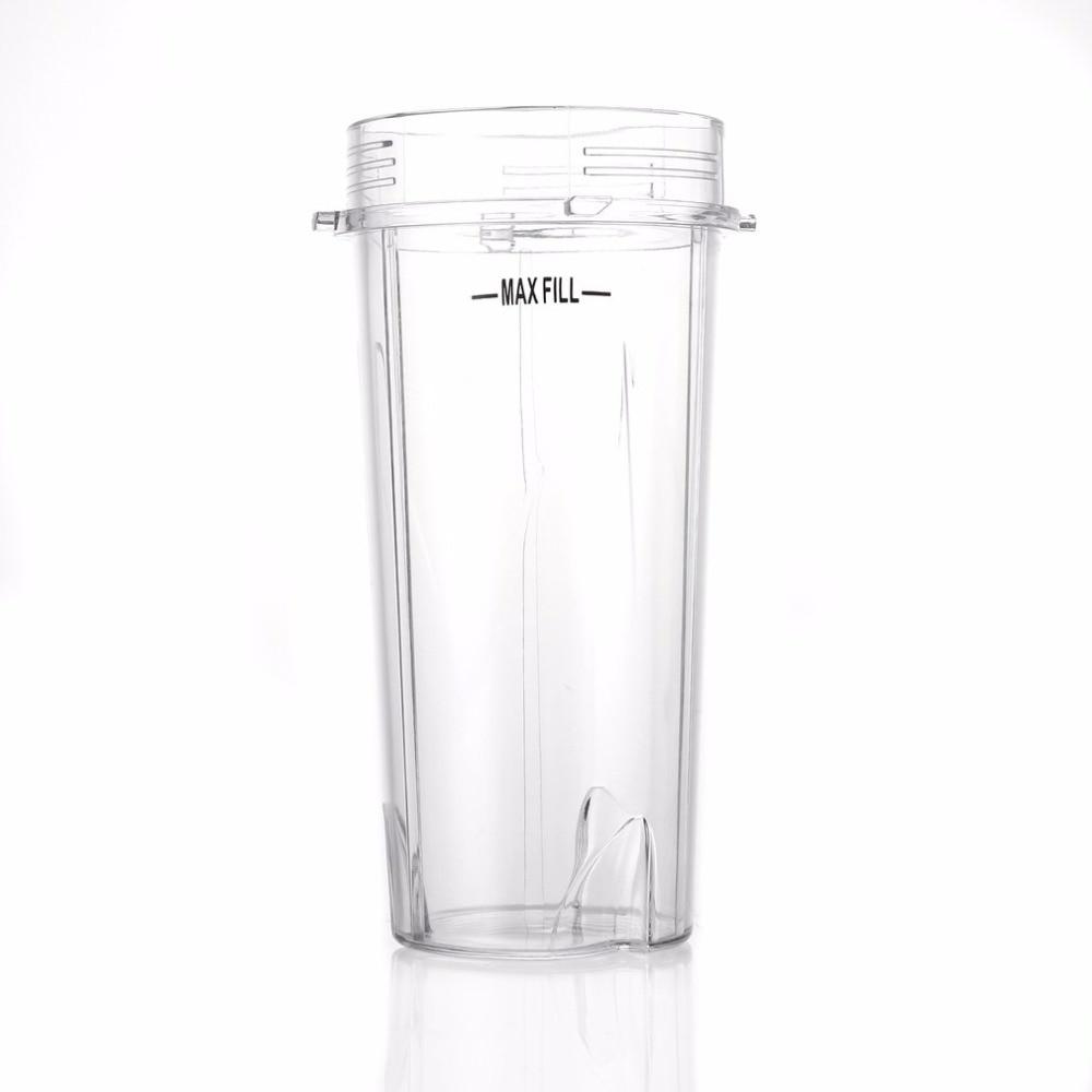 Blender Juicer Parts Bottle Cup Open Lid Good Seal Ring Juicer for NINJA+Juicer Accessory Cup Mug Clear for Ninja16OZ Kitchen