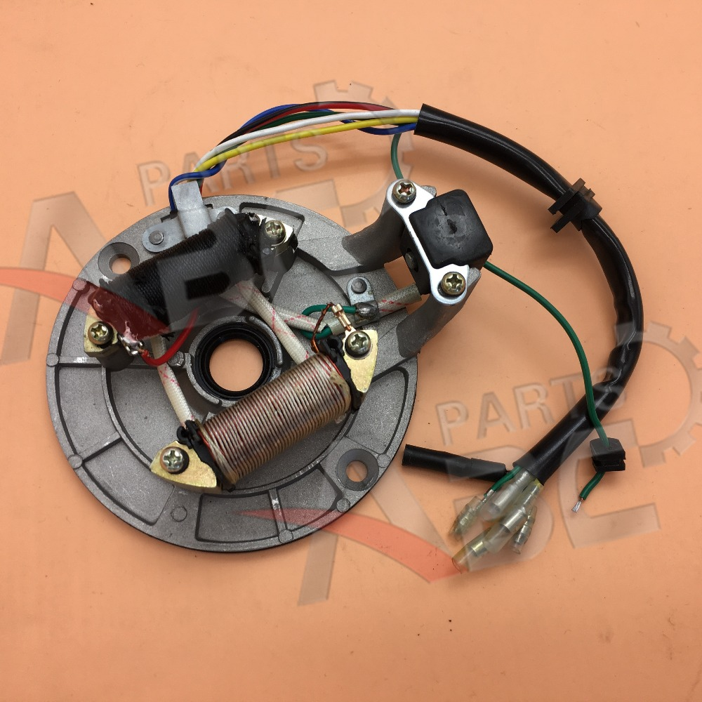 US $9 99 |Stator Magneto Alternator LiFan 50cc 70cc 90cc 110cc 125cc Engine  Mini Bike-in Engine Cooling & Accessories from Automobiles & Motorcycles
