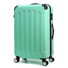 20/24in Rolling Luggage Suitcase on Wheels ABS Girl Trolley Case Travel Waterproof Luggage Case Extension Boarding Box