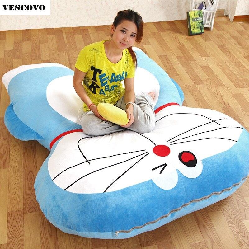 Grote Doraemon Pluche Bed Zachte Japanse Anime Leuke Kinderen Tatami Kussen Matras Kids Decoratie Mat Pad Om Te Genieten Van Een Hoge Reputatie Op De Internationale Markt