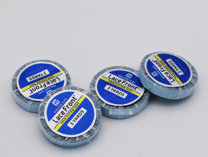 1 шт. 0,8 см * 3 рулетка для измерения в ярдах Клей Двусторонняя изолента водонепроницаемый для парика с кружевом особенность человеческий средство для наращивания волос