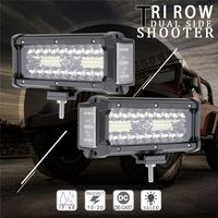 7Inch 168W Waterproof Off Road LED Work LIght Car Light Bar LED Lights For Trucks