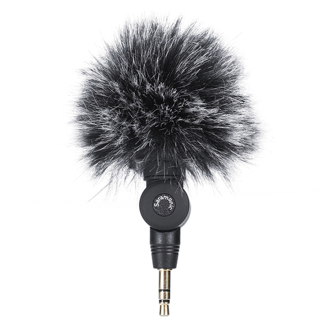 Saramonic SR-XM1 3.5mm TRS Microphone Plug and Play Mic for DSLR Cameras Camcorders Muff Windshield Gift with V2 V2 Pro Cage Lahore