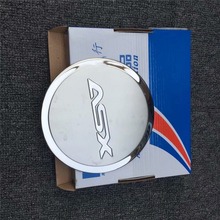 Stainless steel Stickers fuel tank cover for 2011 asx car-styling fuel cap protect trim cover недорого