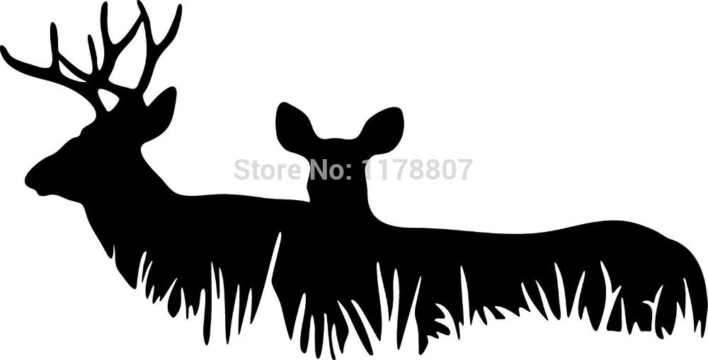 Online Get Cheap Deer Stickers For Cars Aliexpresscom Alibaba - Vinyl decal stickers for cars