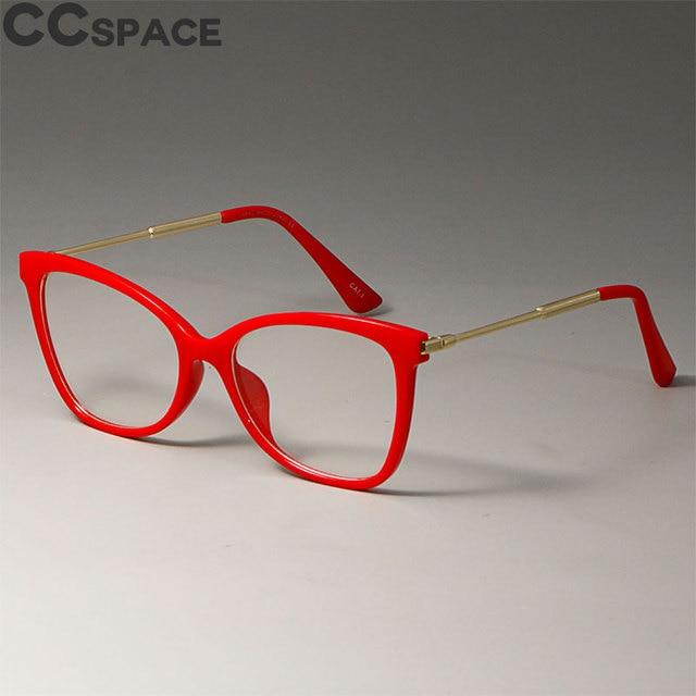 Fashion Styles Eyeglasses Women Cat Eye Glasses Frames Trending Brand Optical Computer Glasses 45644