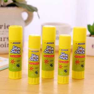Coloffice yellow Solid Glue High viscosity Solid Glue Stick for Adhesive Home Art Paper Card Photo Glue Stick Stationery 1PC