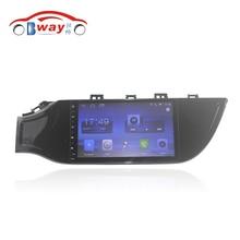 """Bway 9 """"radio samochodowe do 2017 KIA K2 android 6.0.1 samochodowy odtwarzacz dvd z bluetooth, gps navi, SWC, wifi, Lustro link"""