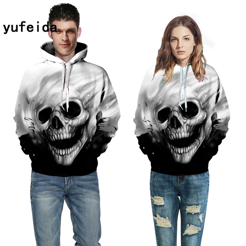 YUFEIDA Mens Women 3D Print Hoodies Sweatshirt With Hat Long Sleeve Fashion Style Men/womens Sweatshirts Pullovers Hoodie XXXL