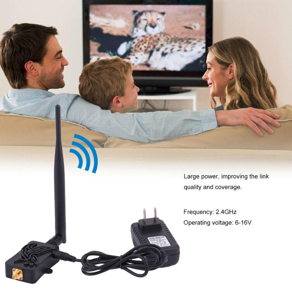 Professional 2.4GHZ 4W Wifi Wireless Broadband Amplifier Router Power Range Signal Booster For Wifi Router JU23