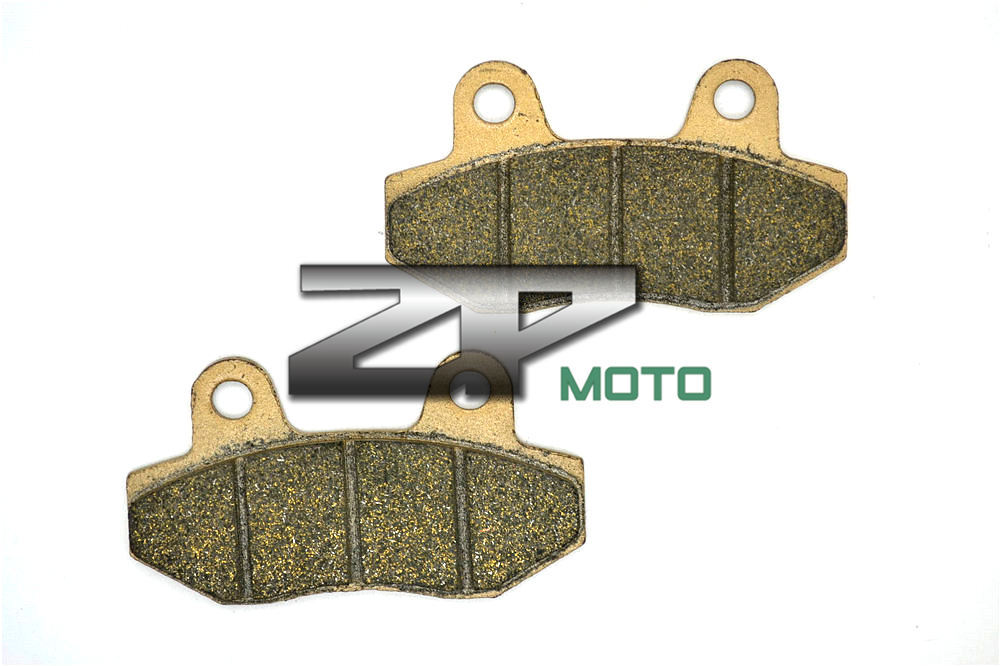 Brake Pads Organic Kevlar For HYOSUNG MS3 125 06-07 MS3 250 06-12 Front & Rear Brand New High Quality 1999 2000 arctic cat 250 2x4 kevlar carbon front brake pads