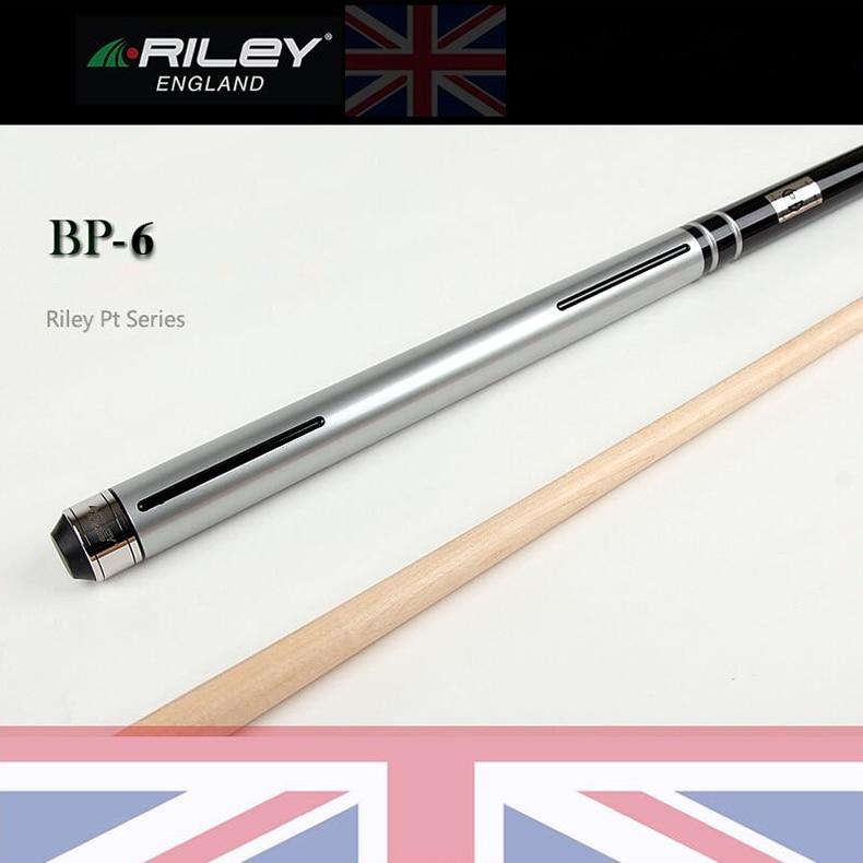 RILEY PT série BP-6 queue de billard 11.85mm pointe Everest avec Extension de haute qualité 1/2 Split SS Acculoc Joint A5 arbre érable