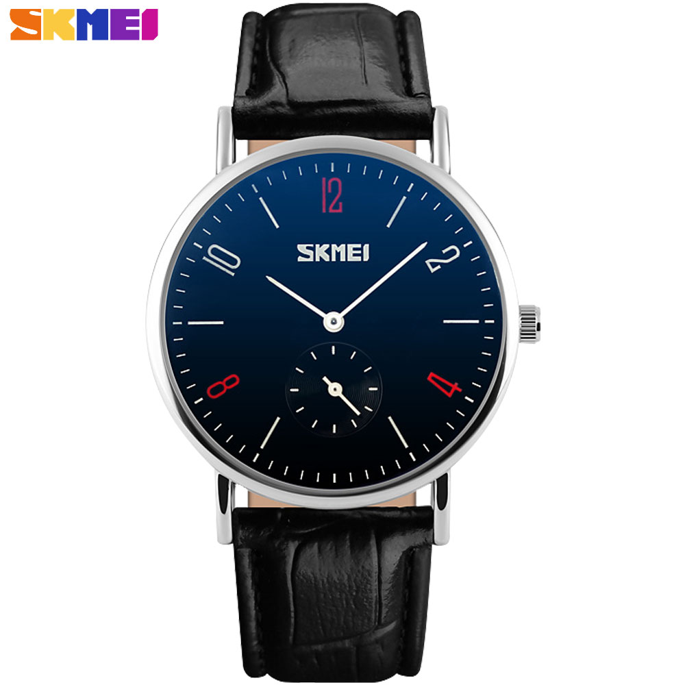 SKMEI china Brand lover s watches fashion casual quartz watch luxury Wristwatches 30m waterproof relogio masculino